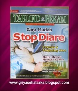 Buku Dan Tabloid Bekam Stop Diare