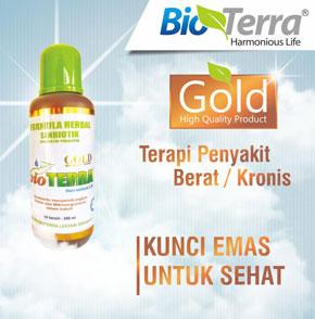 Bioterra Gold Terapi Penyakit Berat-Kronis