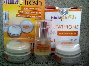 Gluta Fresh, Gluta Fresh Whitening Night Cream, Gluta Fresh Whitening Day Cream, Gluta Fresh Whitening Serum,